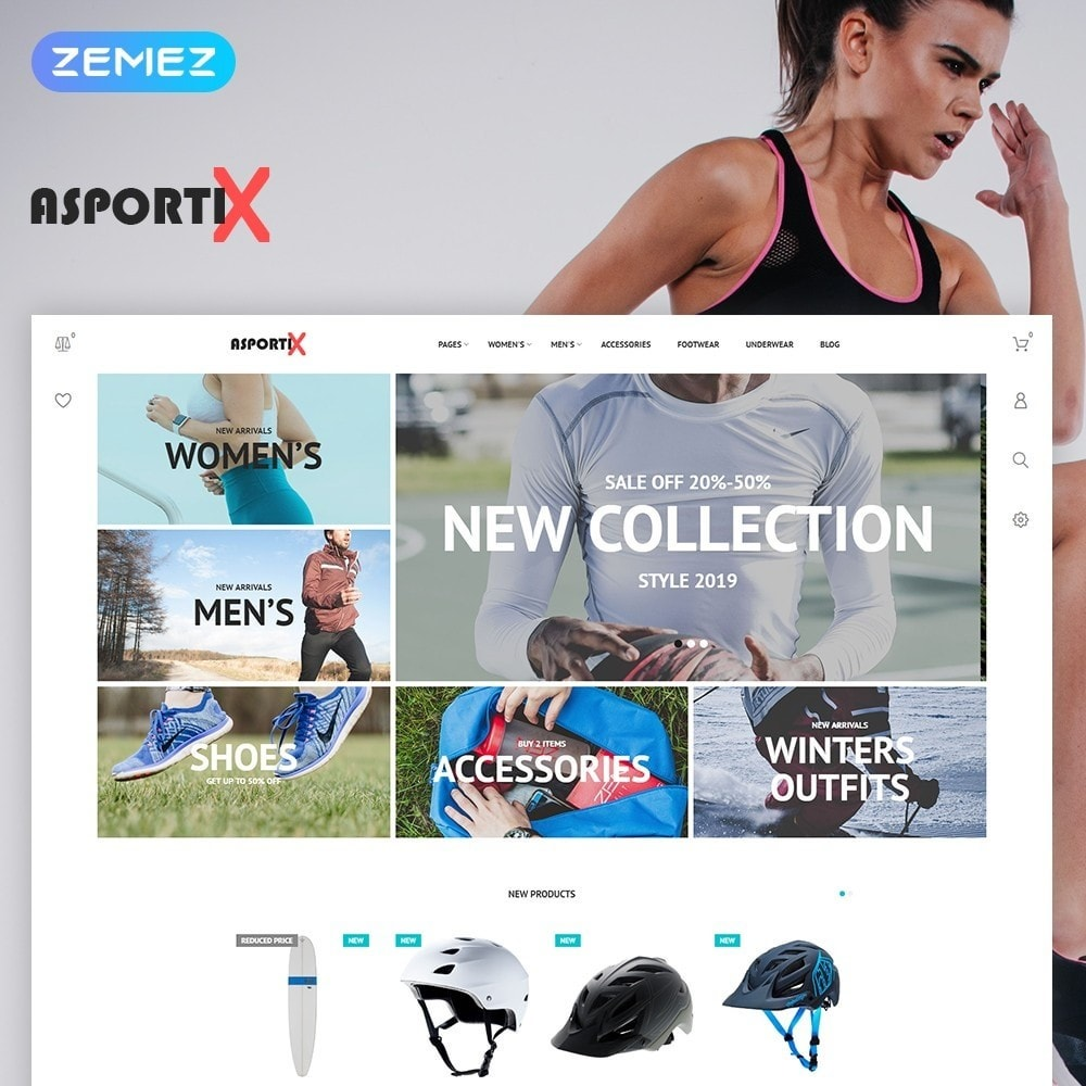 theme - Sports, Activities & Travel - Asportix - Sport Equipment Sport - 1