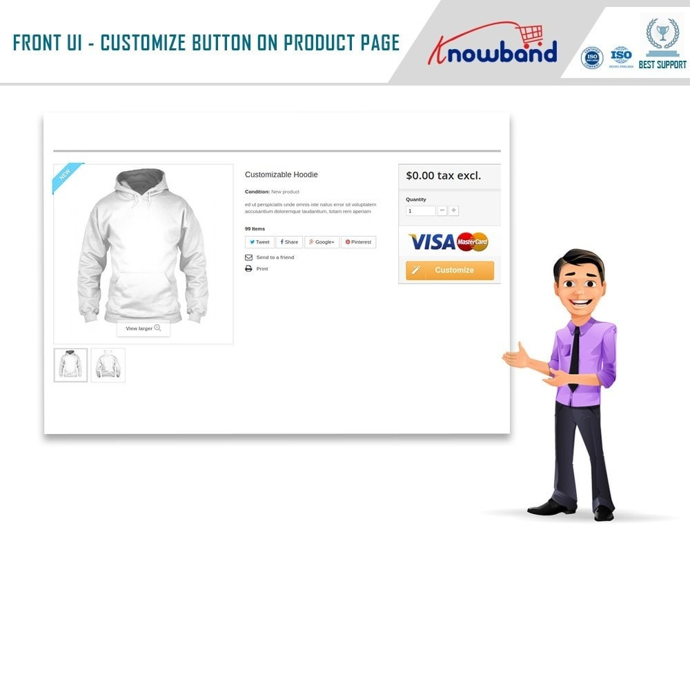 module - Combinations & Product Customization - Product Customizer/Designer - 2