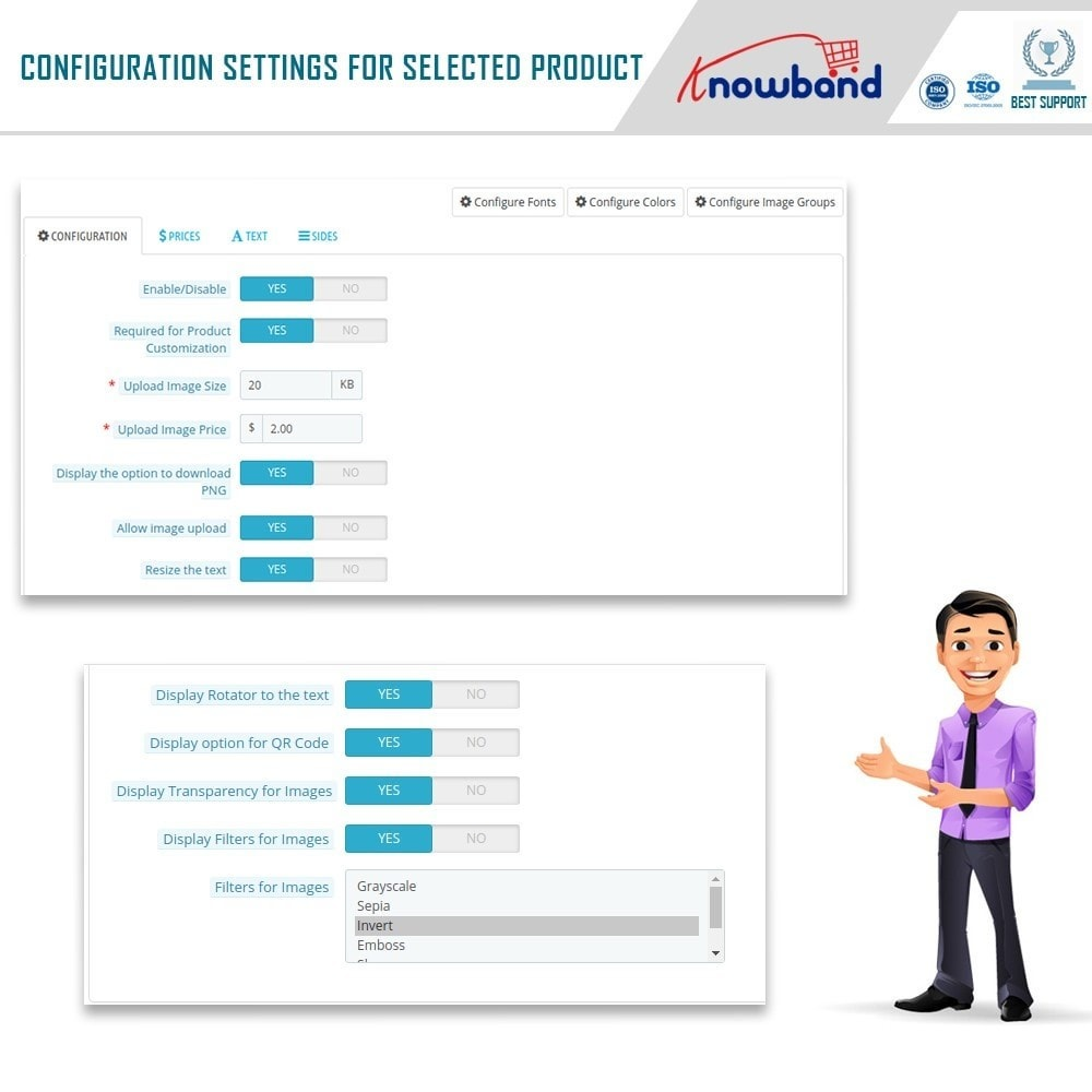 module - Combinations & Product Customization - Product Customizer/Designer - 12