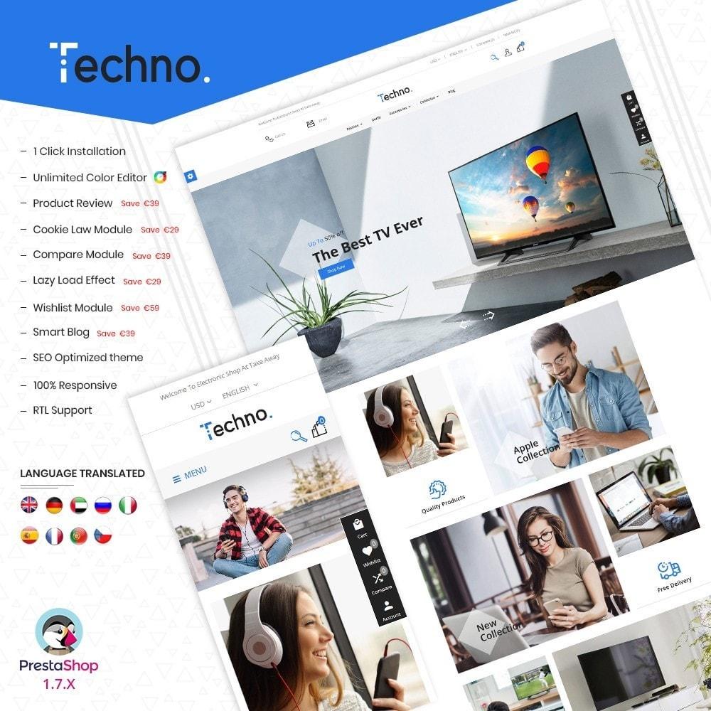 theme - Electronics & Computers - Techno Super Store - 1