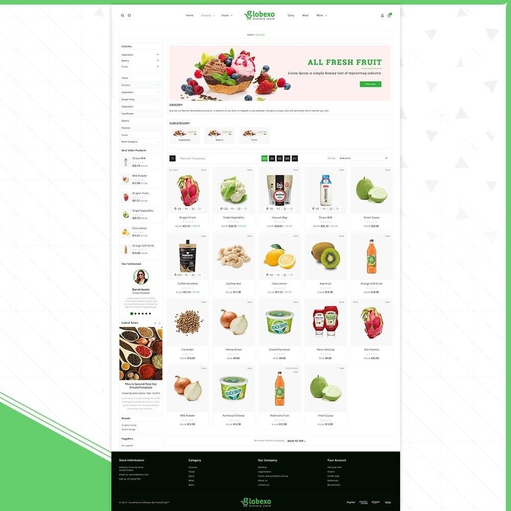 theme - Health & Beauty - Globexo - Fresh Grocery Store - 3