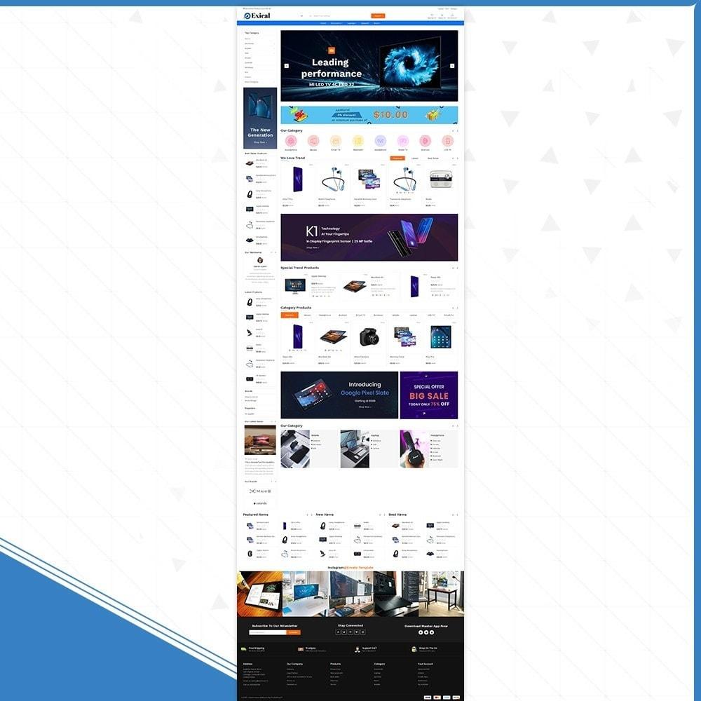 theme - Electronics & Computers - Électronique Exical Shop - 2
