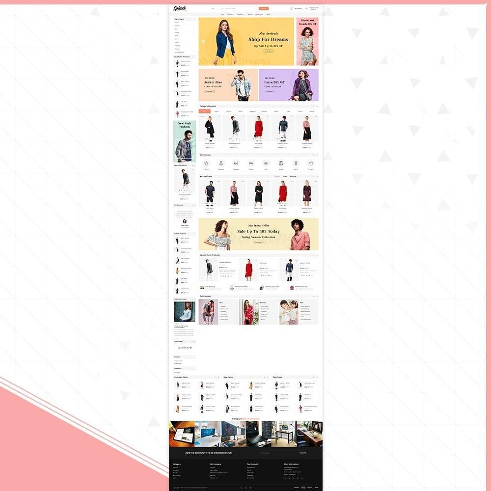 theme - Fashion & Shoes - Splenor - Fashion Style Shop - 2