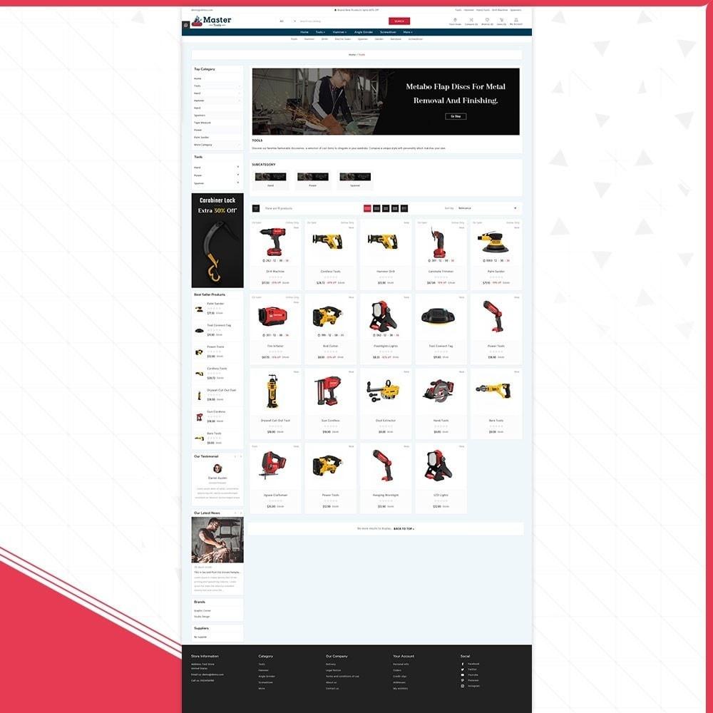 theme - Samochody - Master tools - Equipment Store - 3