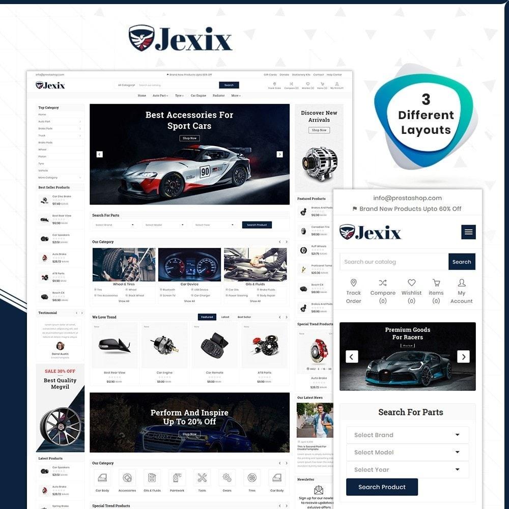 theme - Autos & Motorräder - Jexix  AutoPart - Auto Part Shop - 1