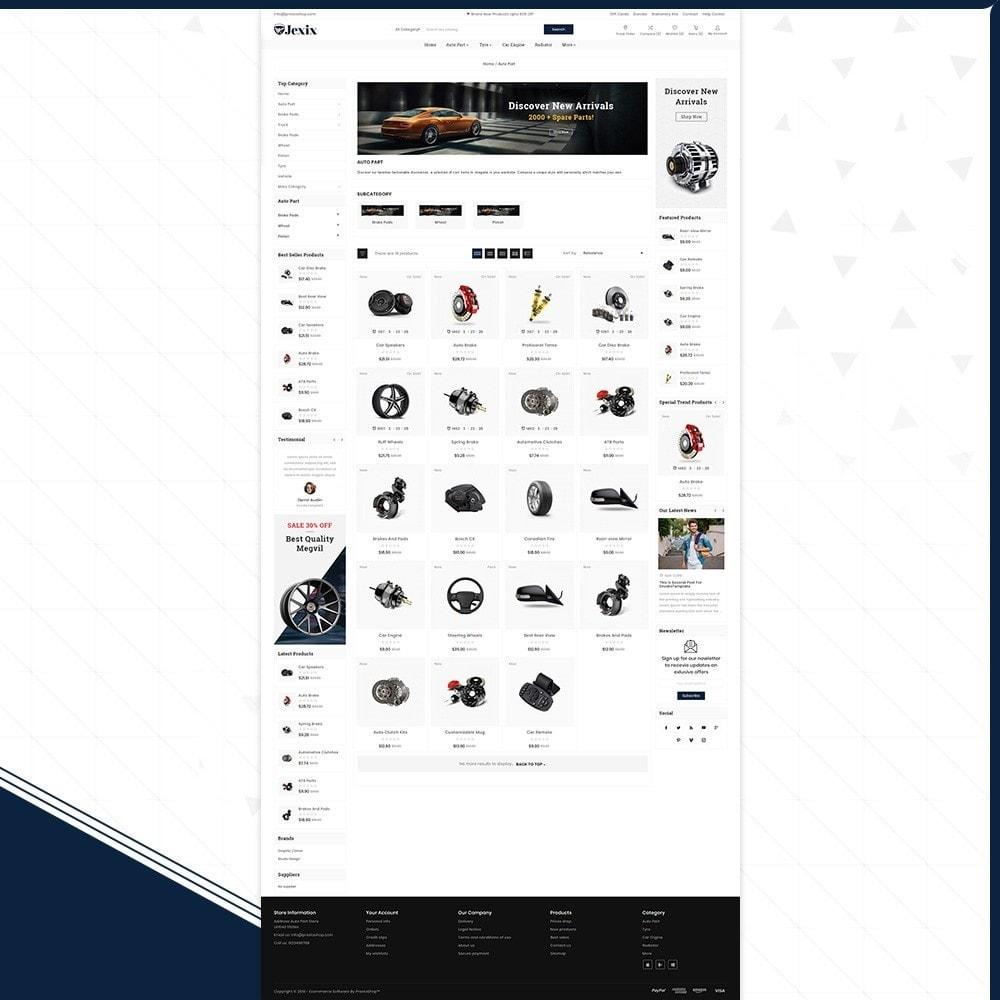 theme - Autos & Motorräder - Jexix  AutoPart - Auto Part Shop - 3