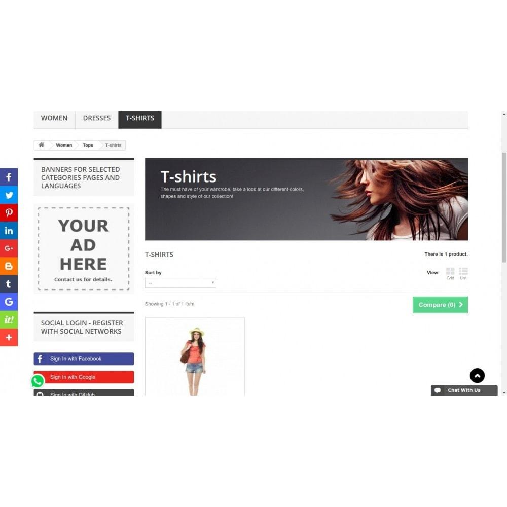 module - Boutons de Partage & Commentaires - AddThis Integration - Partage de contenu social - 1