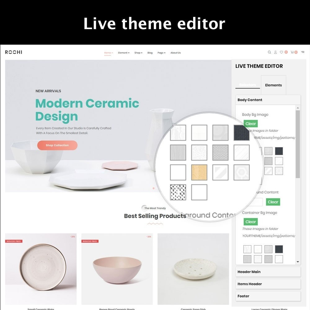 theme - Hogar y Jardín - Leo Rochi Ceramics Store - 4