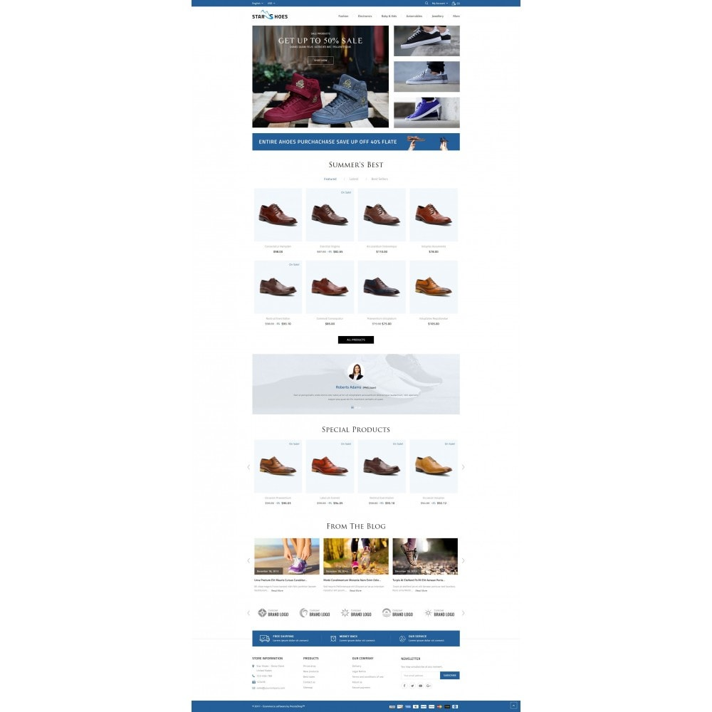 theme - Fashion & Shoes - Star Shoes Store - 2