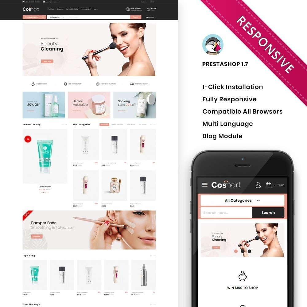 theme - Joalheria & Acessórios - Cosmart - The Cosmetic Mega Store - 1