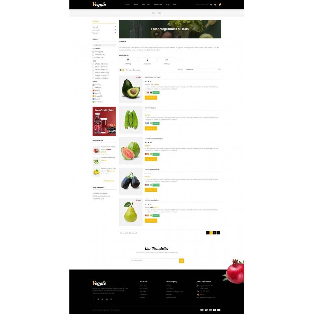 theme - Alimentation & Restauration - Veggie - Organic Store - 4