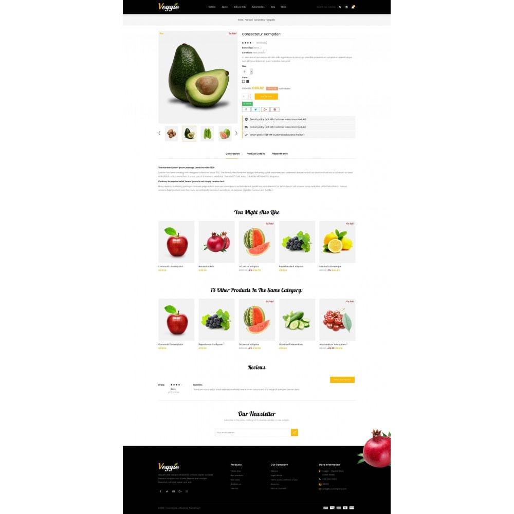 theme - Alimentation & Restauration - Veggie - Organic Store - 5