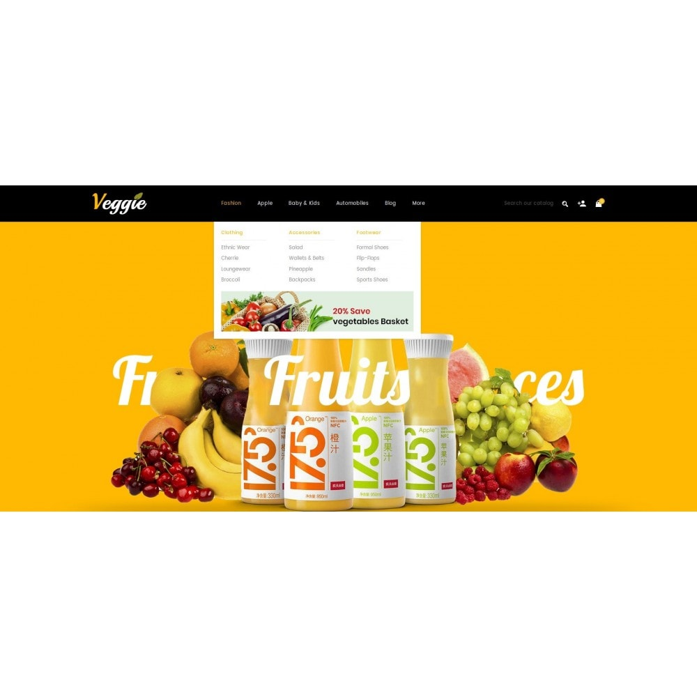 theme - Żywność & Restauracje - Veggie - Organic Store - 6