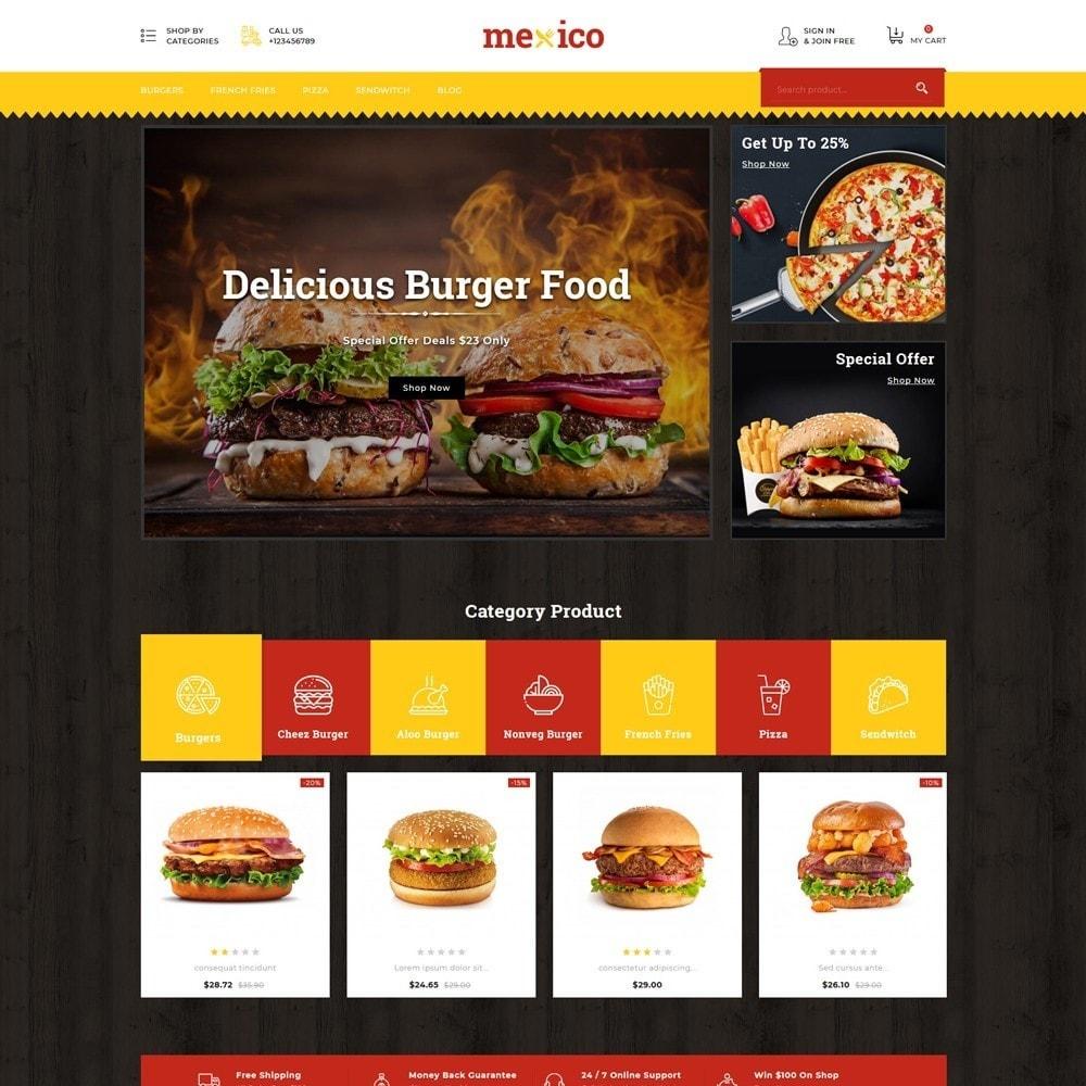 theme - Alimentation & Restauration - Mexico Food Store - 3