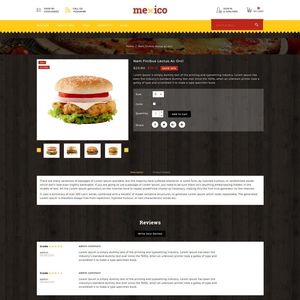 theme - Alimentation & Restauration - Mexico Food Store - 5