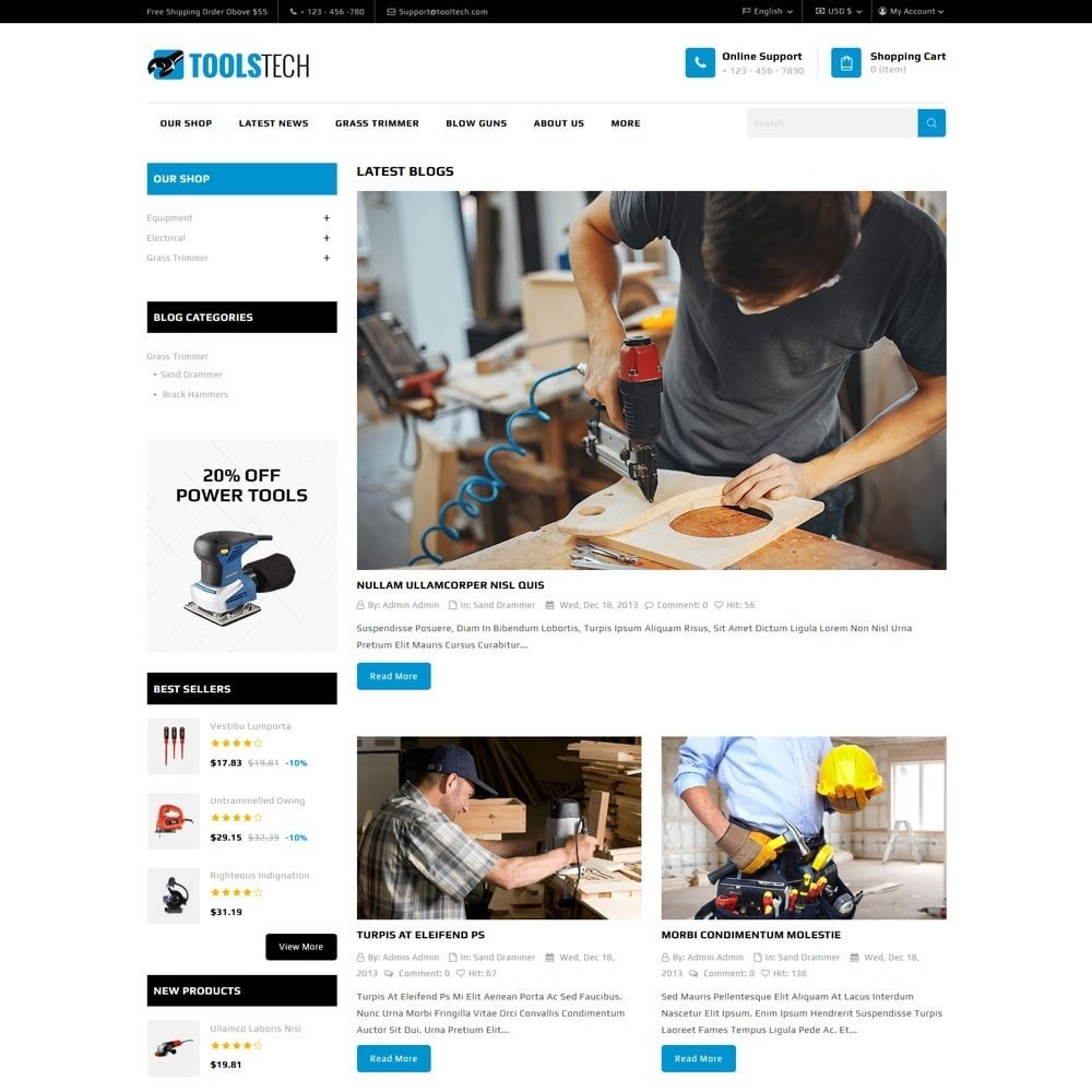 theme - Electronics & Computers - ToolTech - The Tool Store - 10
