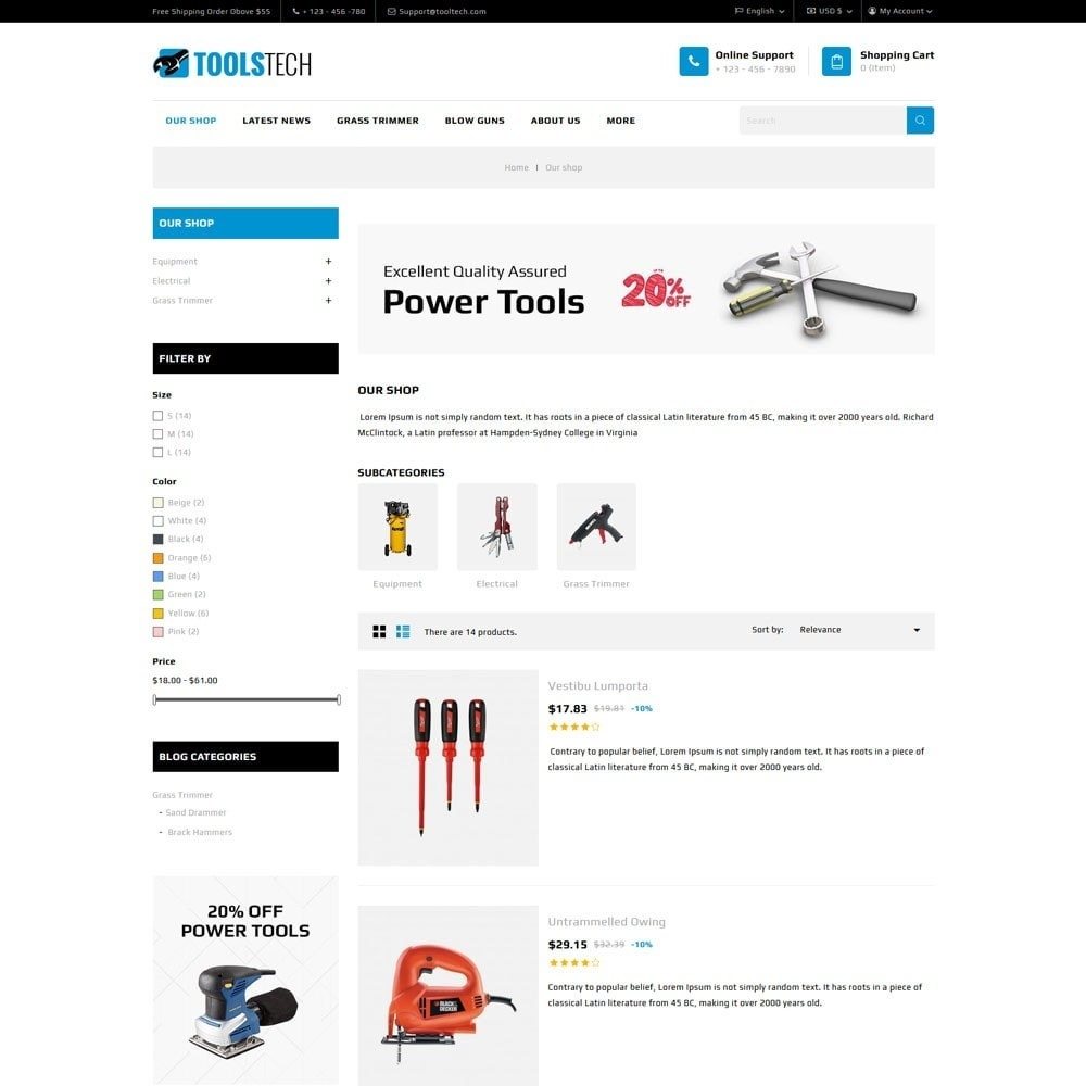 theme - Elettronica & High Tech - ToolTech - The Tool Store - 9