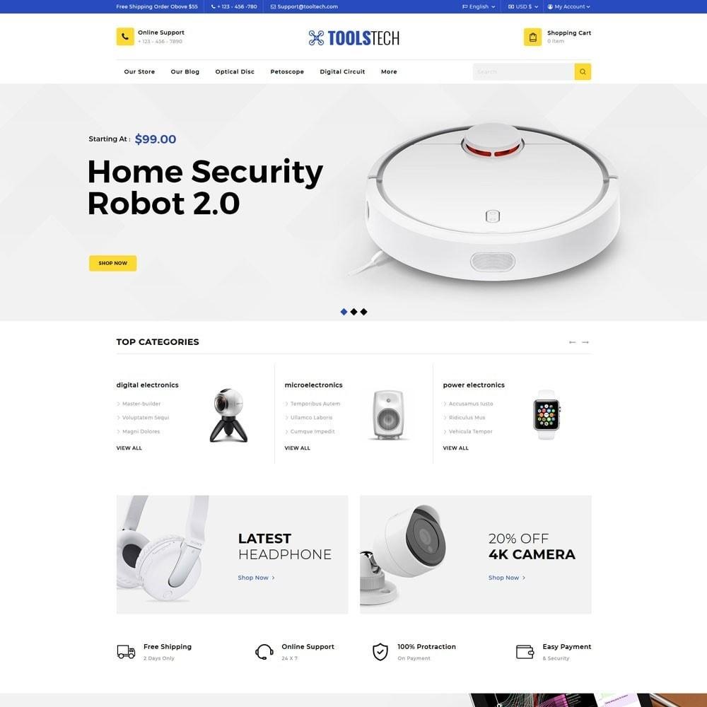 theme - Electrónica e High Tech - ToolTech - La tienda de herramientas - 7