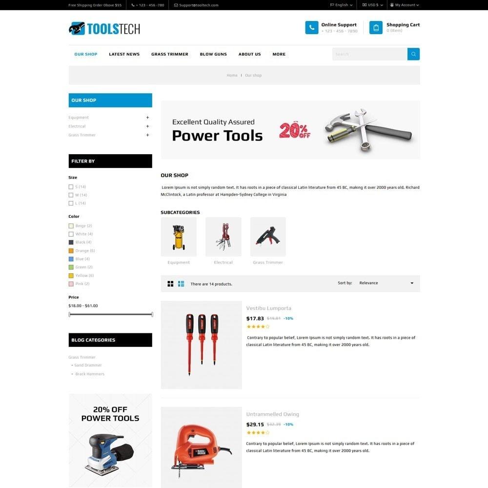 theme - Electrónica e High Tech - ToolTech - La tienda de herramientas - 9