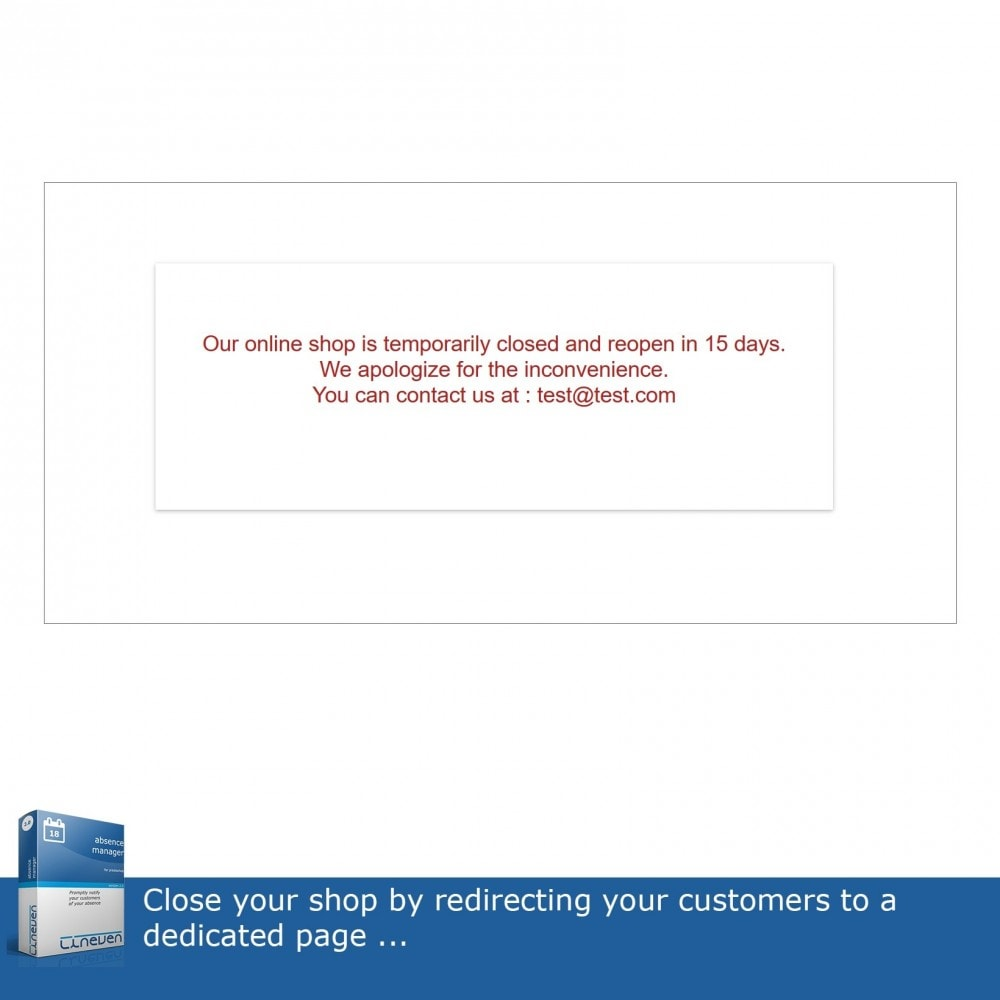 module - Customer Service - Absence & Holiday Manager - 7