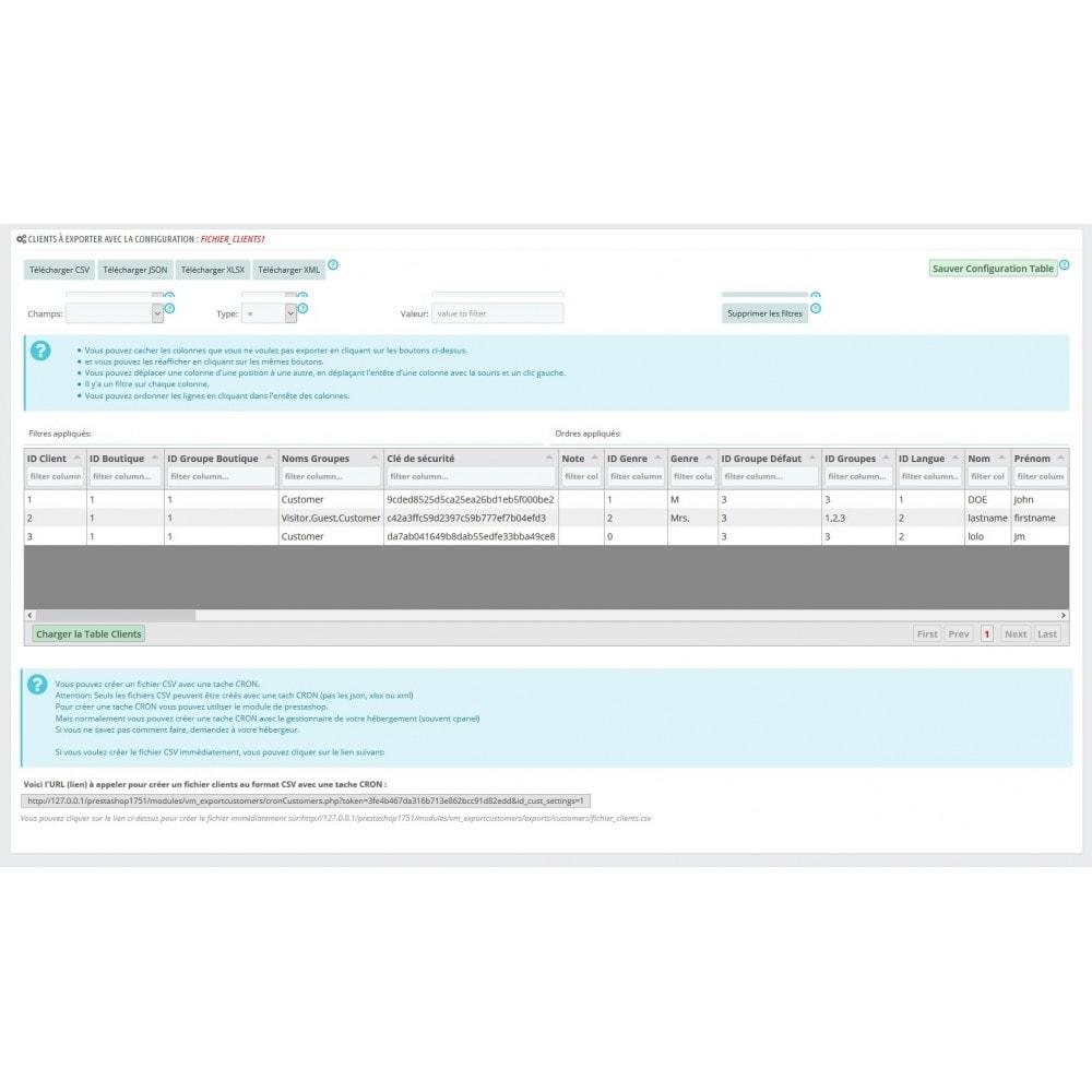module - Import & Export de données - Exportez toutes vos infos Prestashop - 3