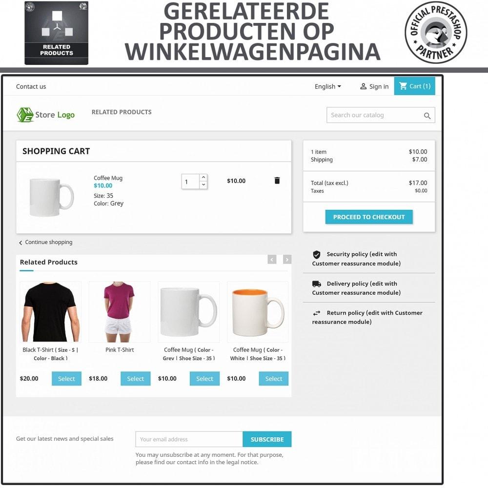 module - Kruisverkoop & Pakketaanbiedingen - Gerelateerde producten - 4