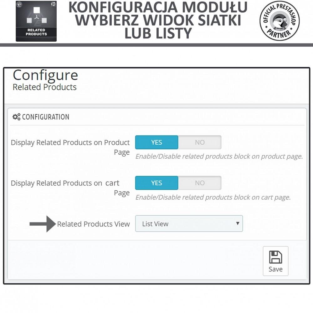 module - Sprzedaż krzyżowa & Pakiety produktów - Moduł Karuzeli Responsywnych Produktów Podobnych - 5
