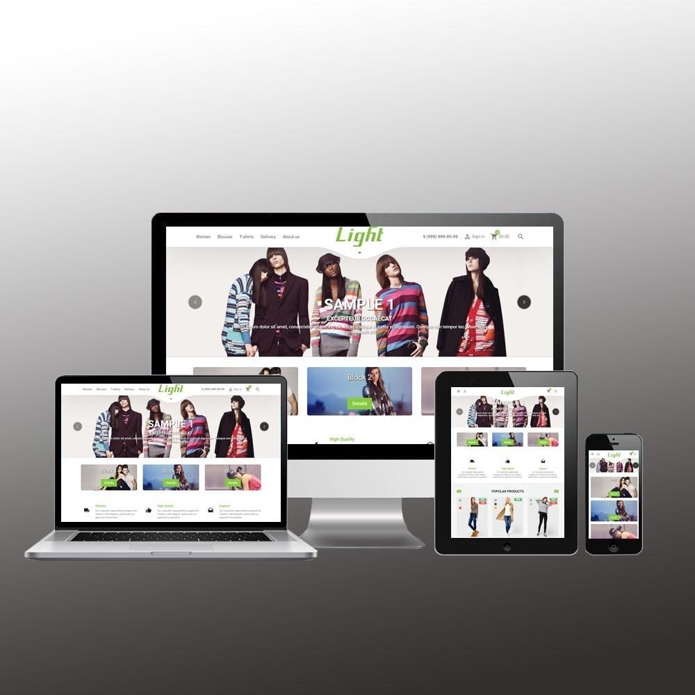 theme - Mode & Schoenen - Light Clothes Store - 1