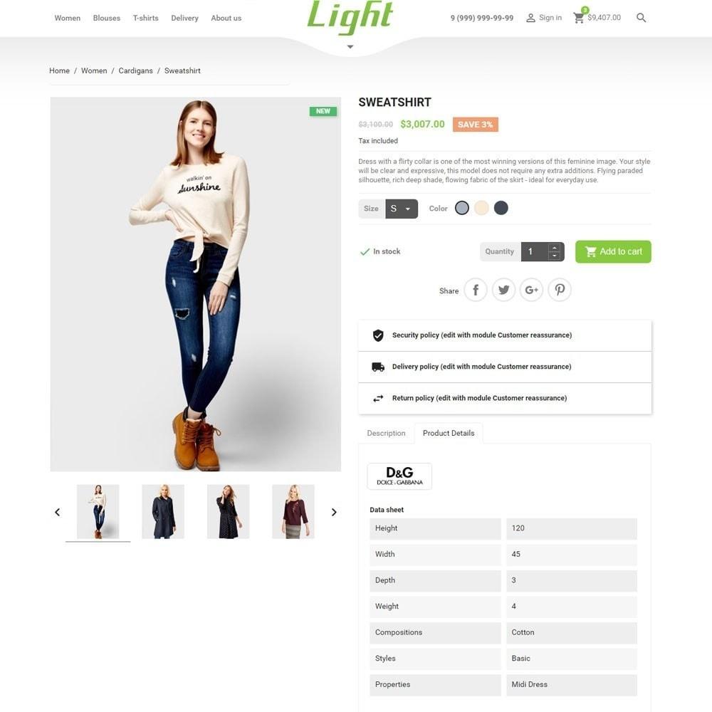 theme - Mode & Schoenen - Light Clothes Store - 8
