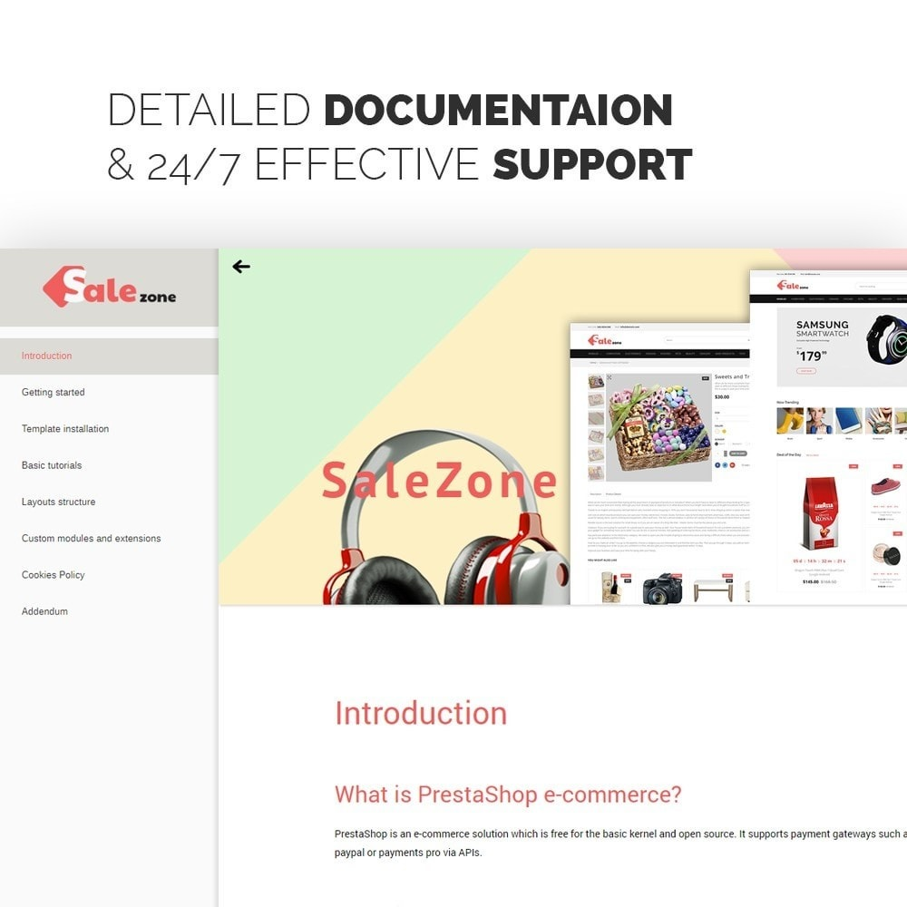 theme - Mode & Chaussures - SaleZone - Great Store Means Great Choice - 3