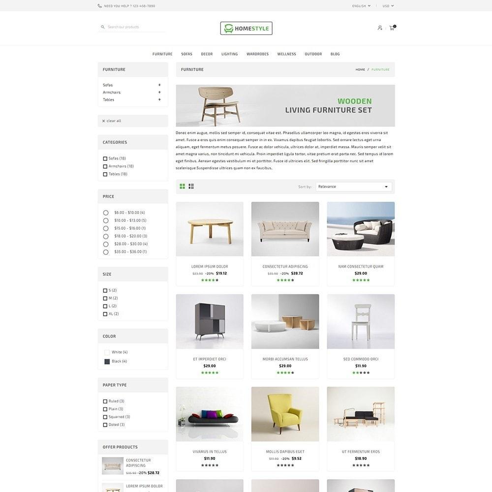 theme - Home & Garden - HomeStyle Furniture Shop - 3