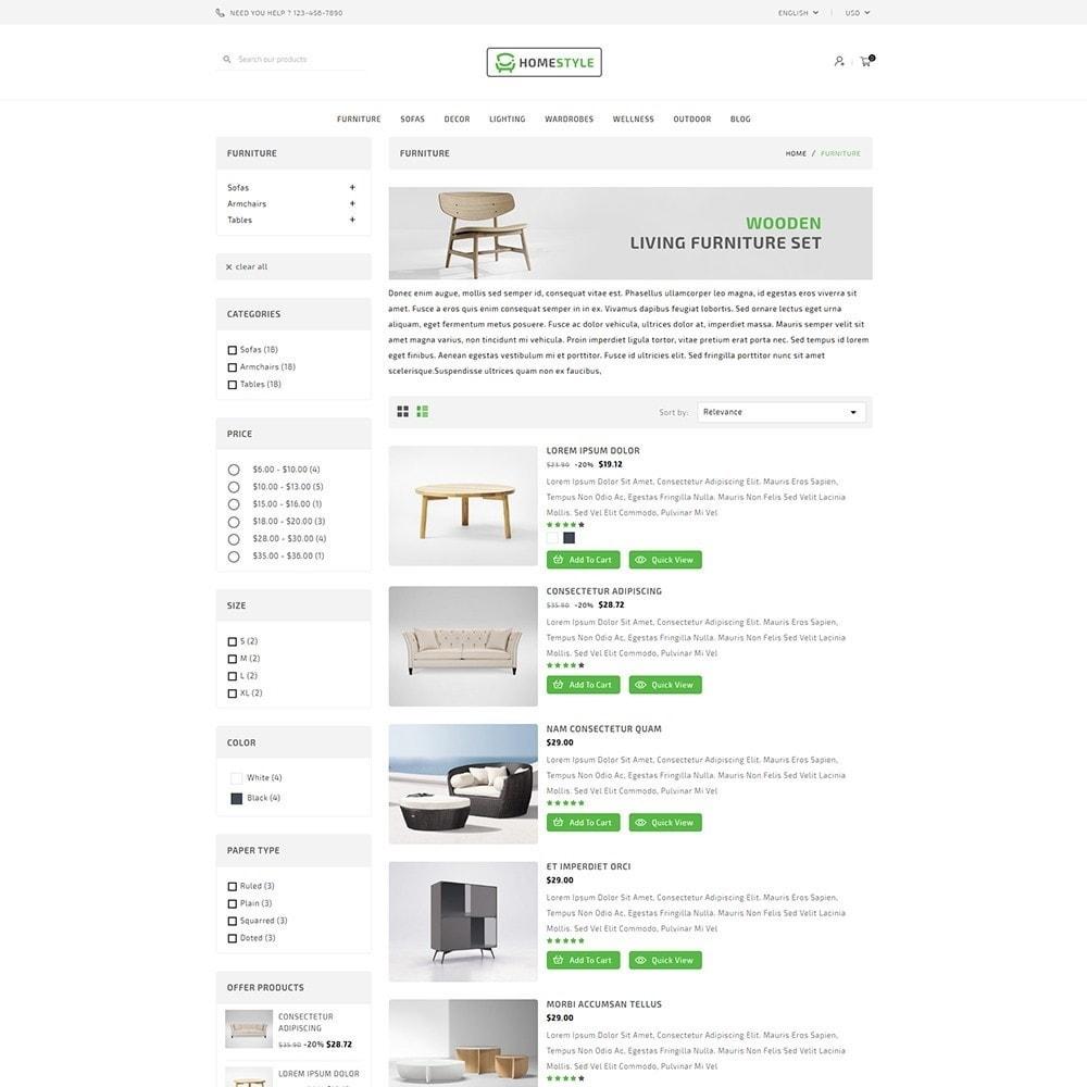 theme - Home & Garden - HomeStyle Furniture Shop - 4