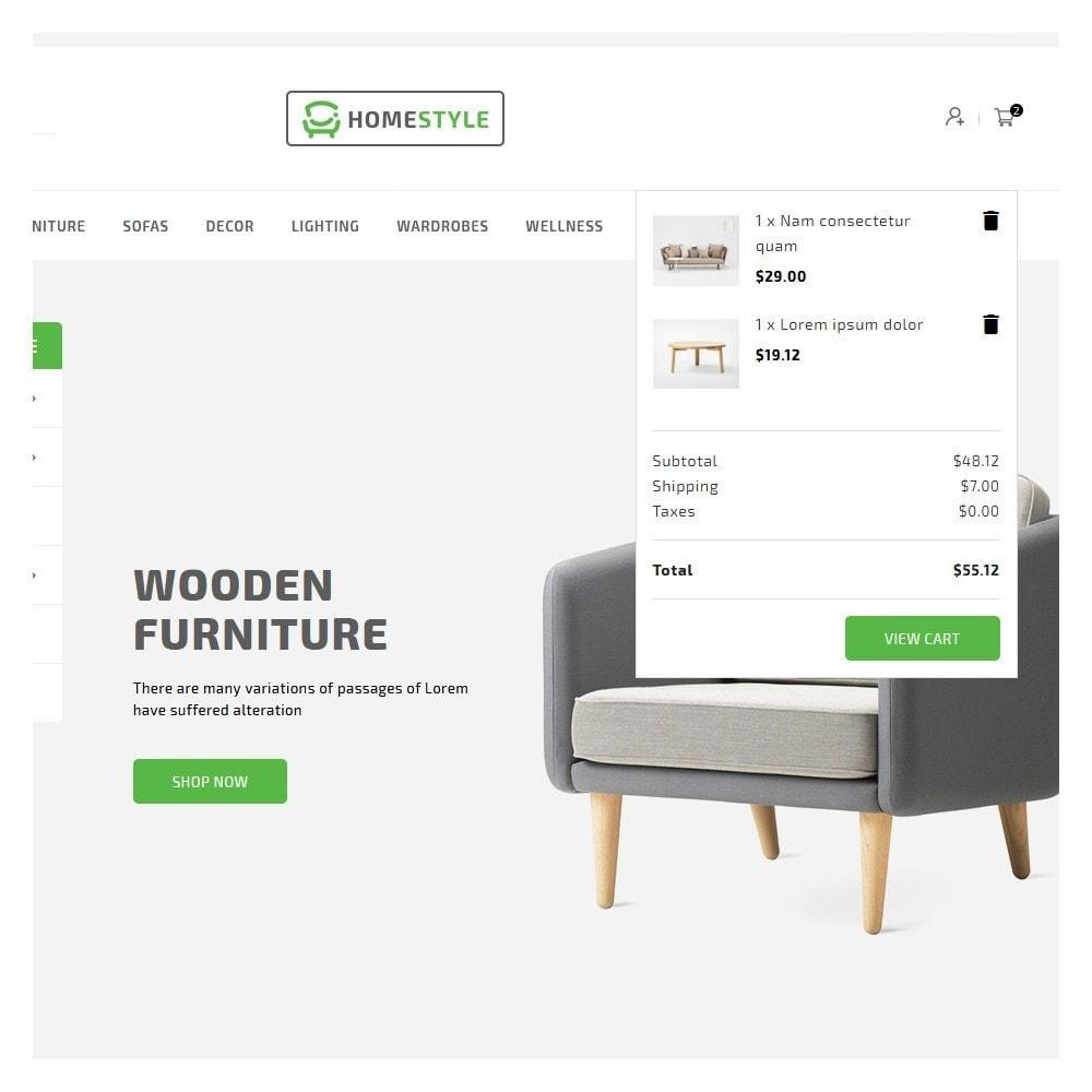 theme - Home & Garden - HomeStyle Furniture Shop - 7