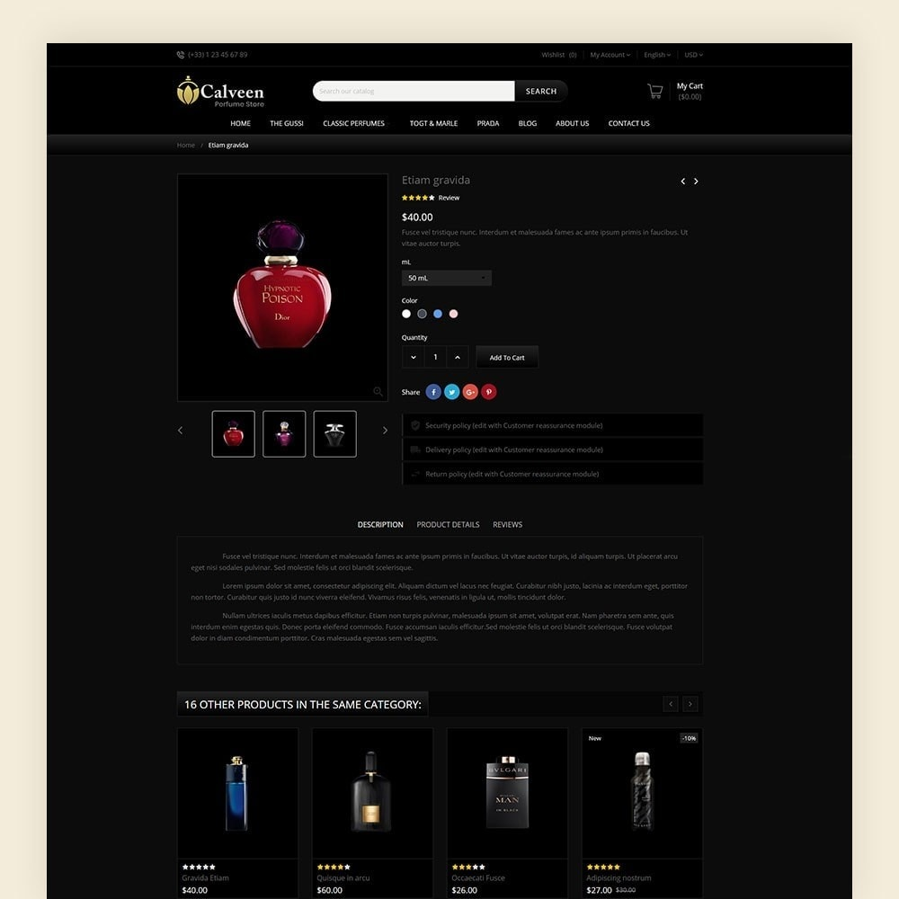 theme - Moda & Obuwie - Calveen Perfume Store - 7