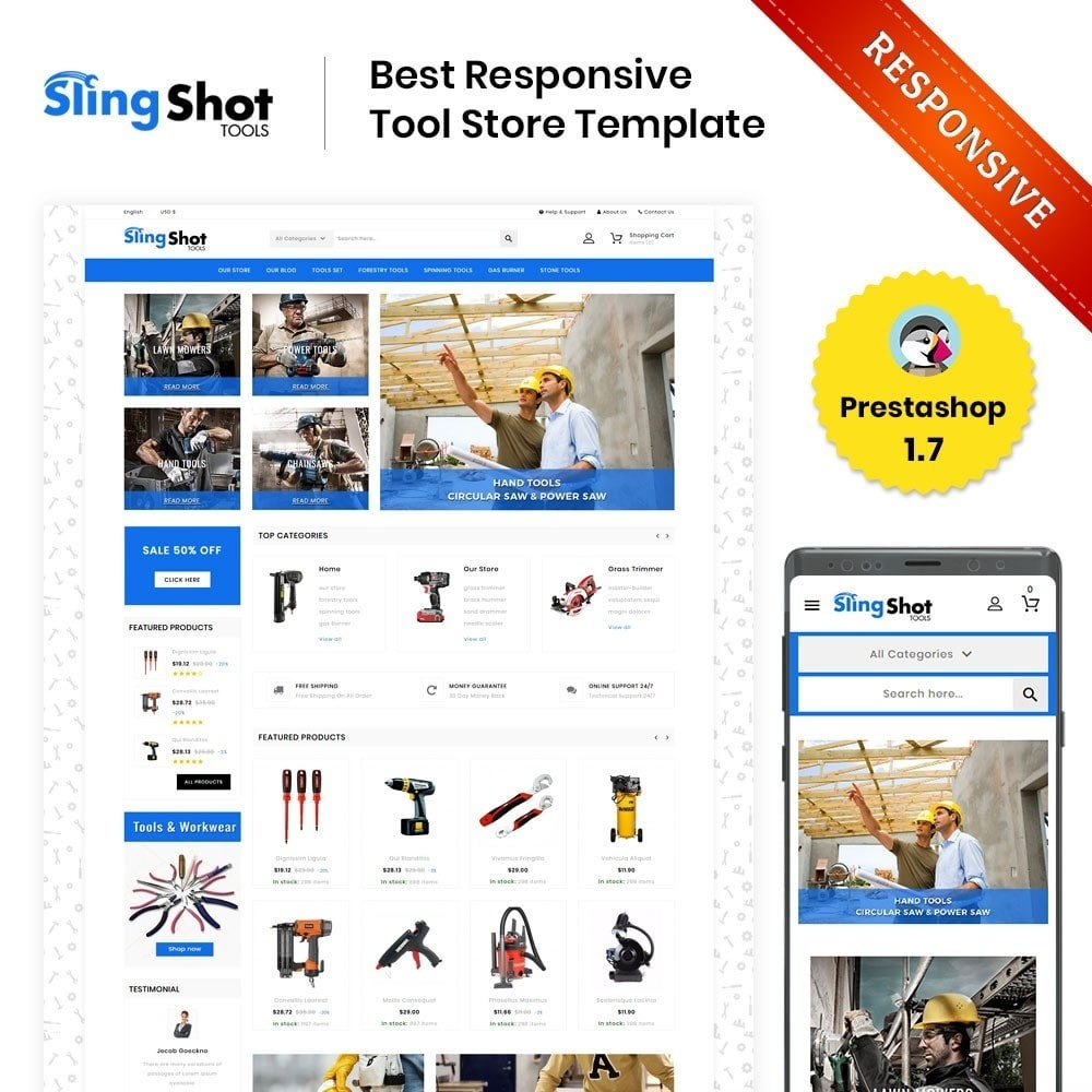 theme - Automotive & Cars - Slinshot - The Tool Store - 1