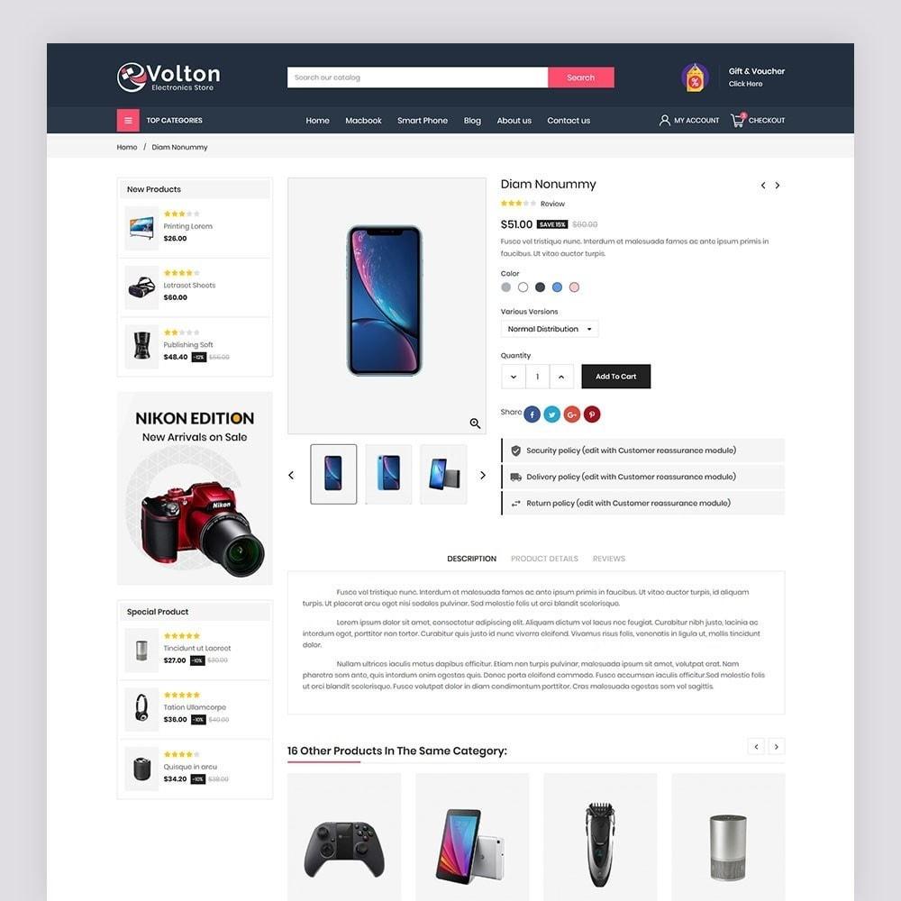 theme - Electronics & Computers - Volton Electronics Store - 7