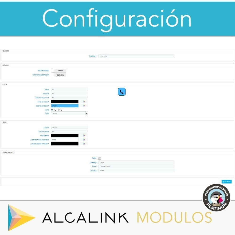 module - Dispositivos móviles - Botón para Llamar (versión móvil) - 3