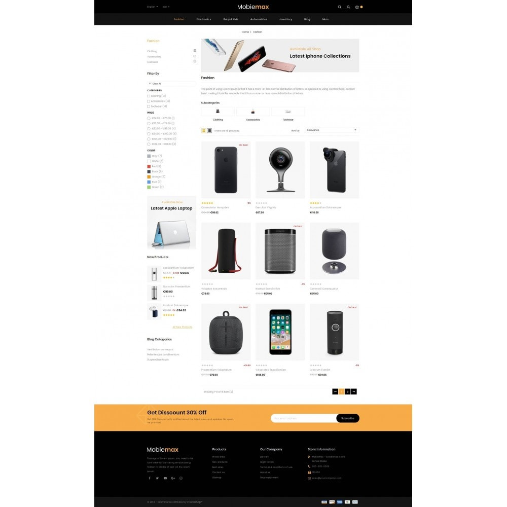 theme - Electronique & High Tech - Mobimax - Online Mobile Store - 3