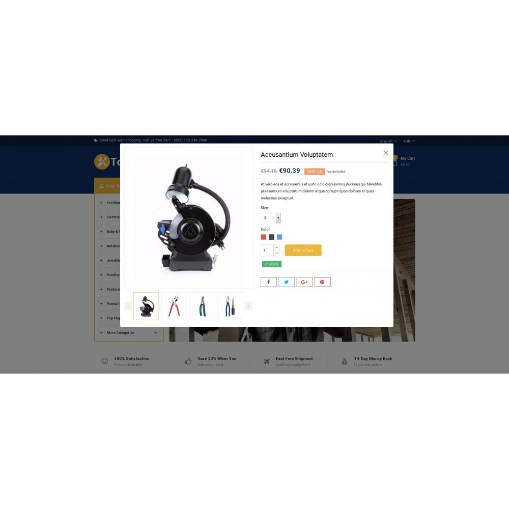 theme - Carros & Motos - Tools kit Store - 5