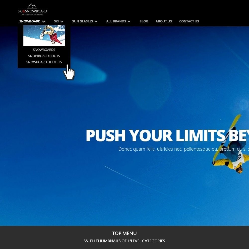 theme - Sports, Activities & Travel - Ski & Snowboard - Sport store - 2
