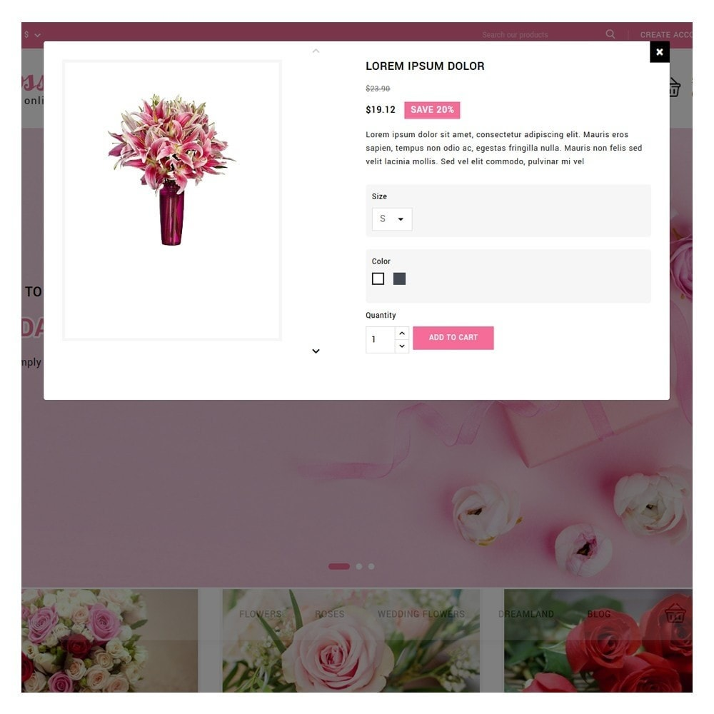 theme - Gifts, Flowers & Celebrations - Blossom Flowers & Gifts Shop - 9