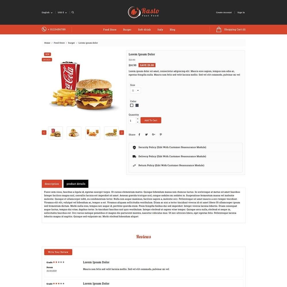 theme - Food & Restaurant - Rasto Food & Restaurant - 5