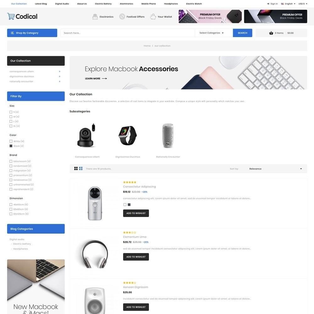 theme - Electronique & High Tech - Codical - Le magasin d'électronique Mega - 7