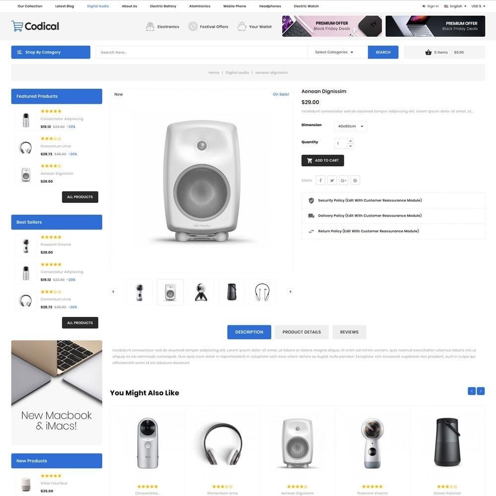 theme - Electrónica e High Tech - Codical - The Mega Electronics Store - 8