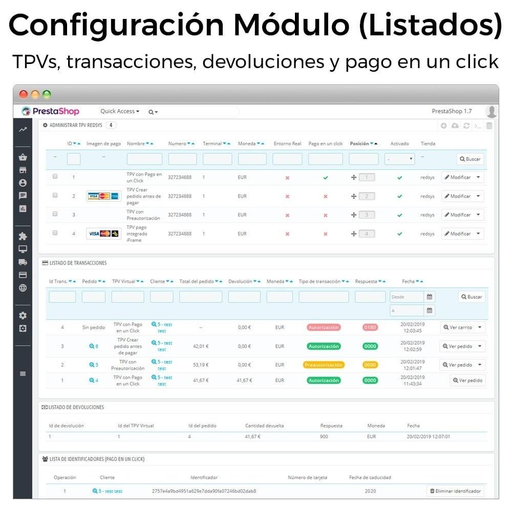 module - Pago con Tarjeta o Carteras digitales - BBVA TPV Virtual Redsys (Devoluciones y Pago un Click) - 2