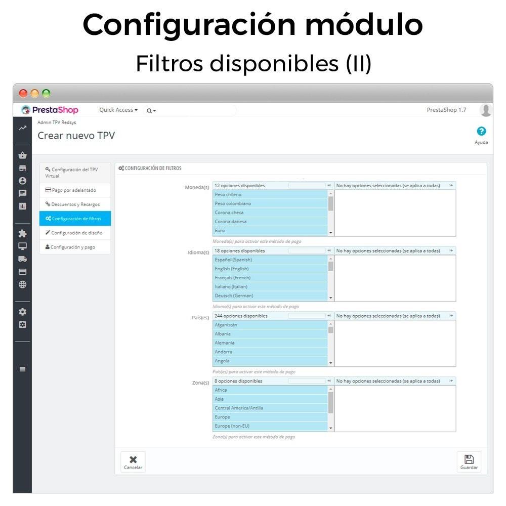 module - Pago con Tarjeta o Carteras digitales - BBVA TPV Virtual Redsys (Devoluciones y Pago un Click) - 6