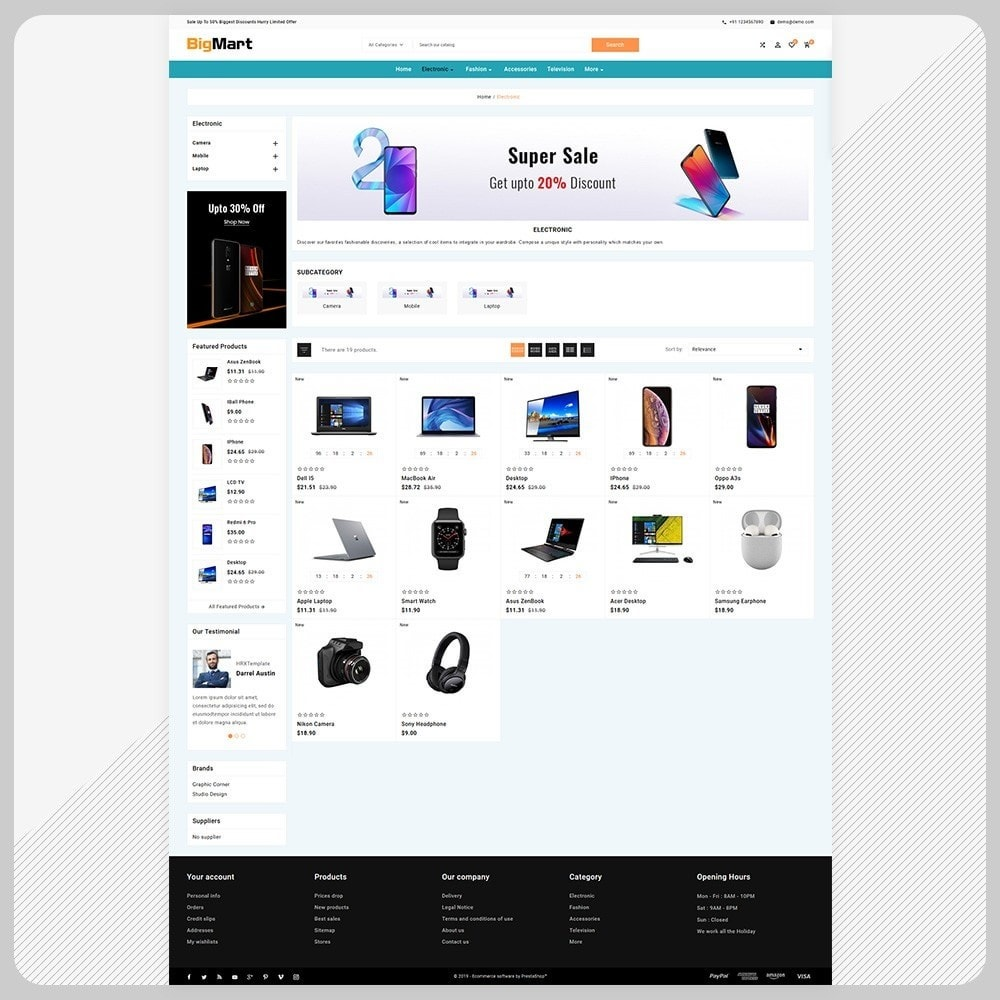 theme - Electronique & High Tech - Bigmart– Electronic Store - 4