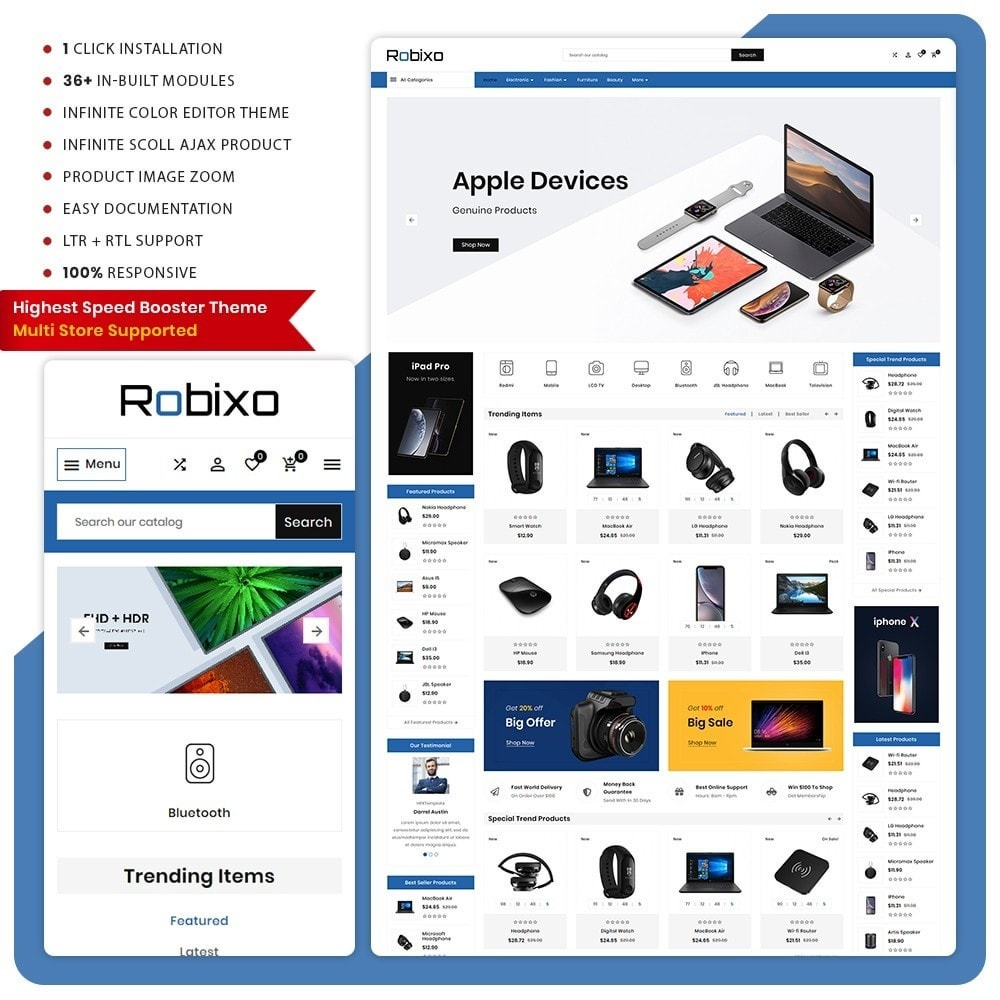 theme - Electronics & Computers - Robixo– Electronic Super Mall - 1