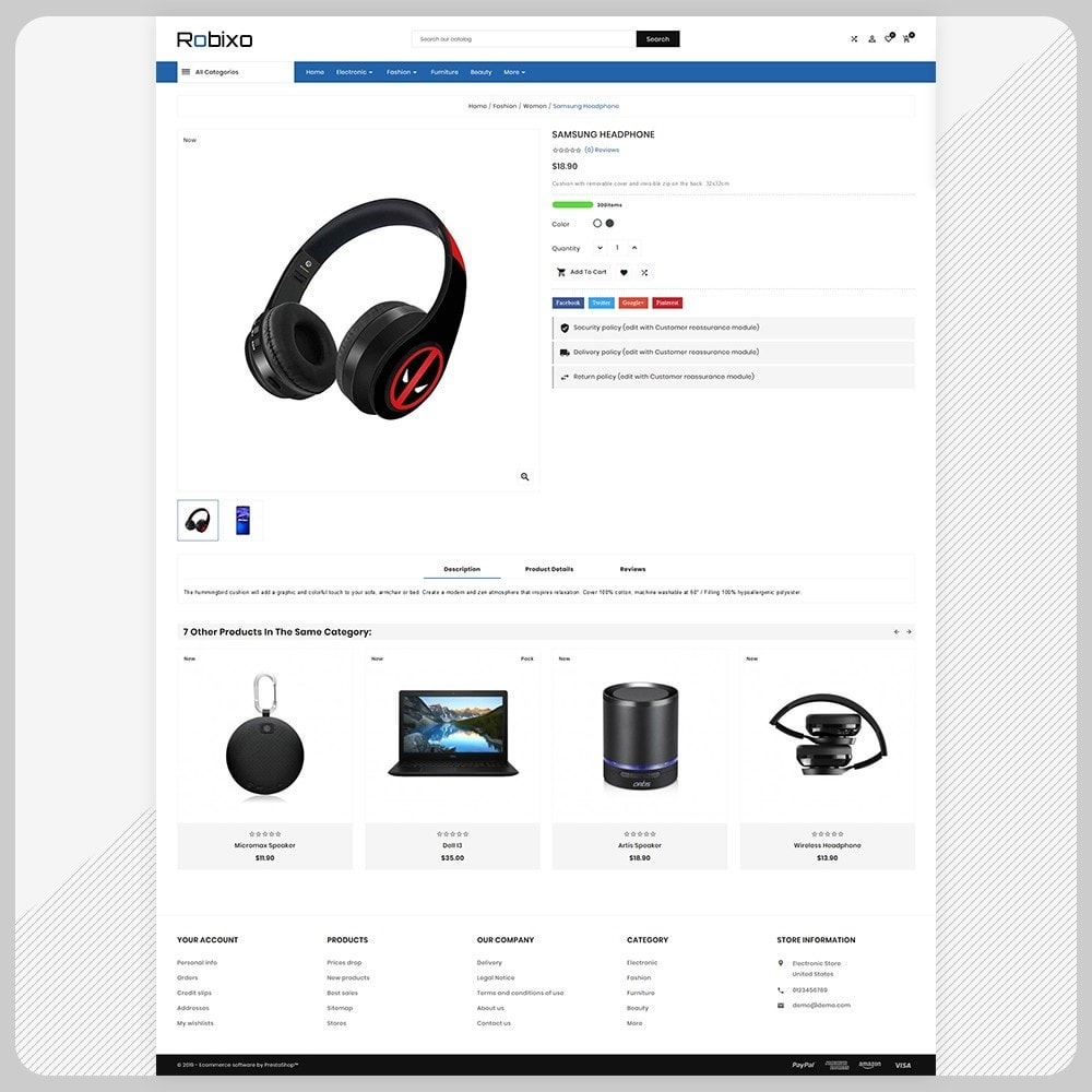 theme - Elektronica & High Tech - Robixo– Electronic Super Mall - 4