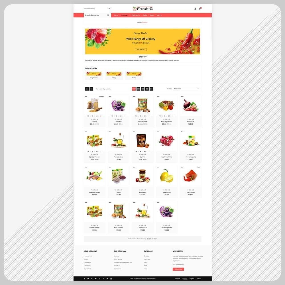 theme - Health & Beauty - Fresh G– Grocery Mega Mall - 3